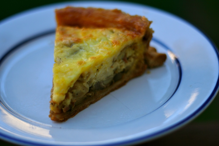 A hearty quiche to warm your heart!